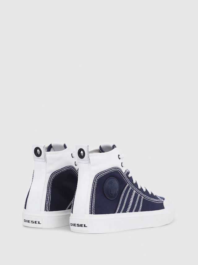 Diesel - S-ASTICO MID LACE W, Blu/Bianco - Sneakers - Image 3