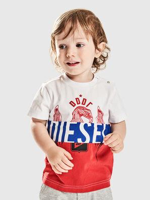 TRICKYB, Bianco/Rosso/Blu - T-shirts e Tops