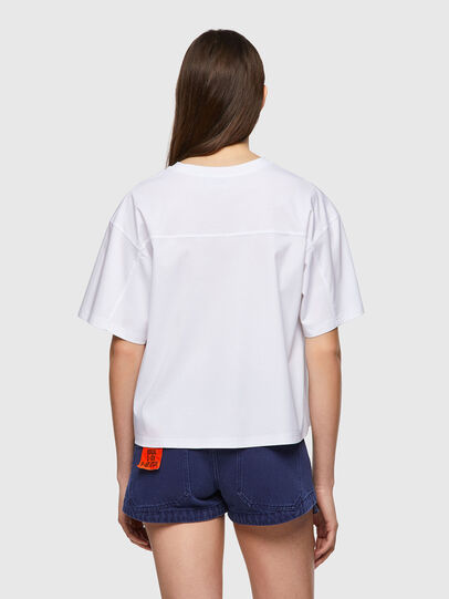Diesel - T-BOWBOW, Bianco - T-Shirts - Image 2