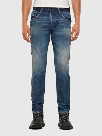 Diesel - D-Kras 009EA, Nero/Grigio scuro - Jeans - Image 1