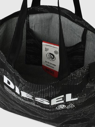 Diesel - D-THISBAG SHOP M, Nero - Shopper e Borse a Spalla - Image 7