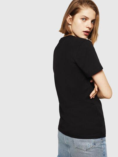 Diesel - T-FOIL, Nero - T-Shirts - Image 2