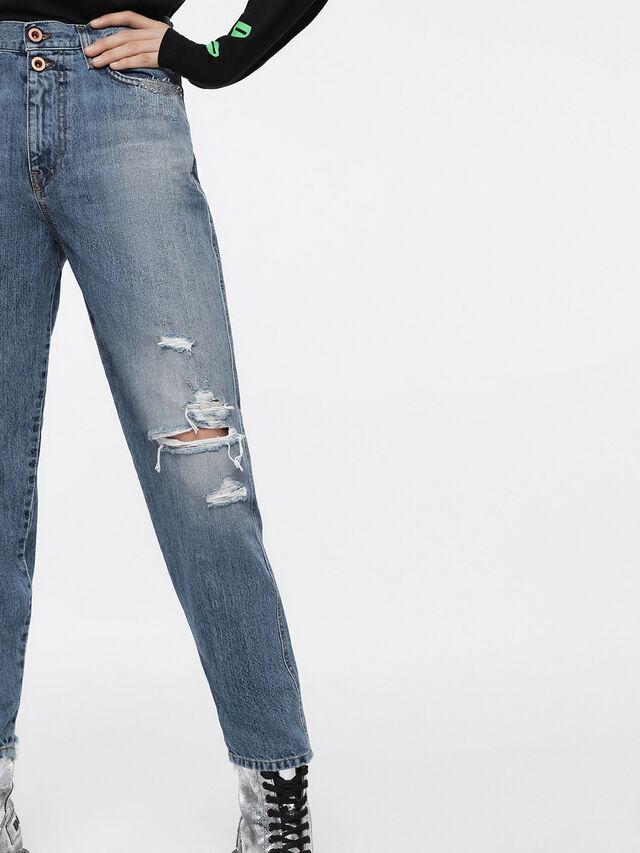 Diesel - Alys 084ZE, Blu Chiaro - Jeans - Image 4