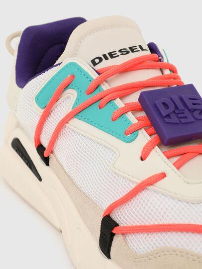 Diesel - S-SERENDIPITY LC EVO, Bianco/Rosa - Sneakers - Image 4