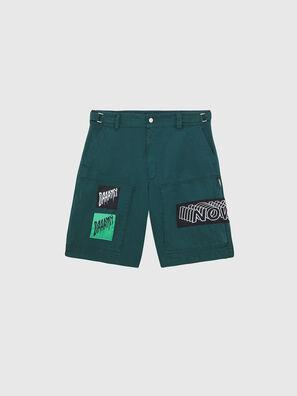P-DUGA-SHO, Verde Scuro - Shorts
