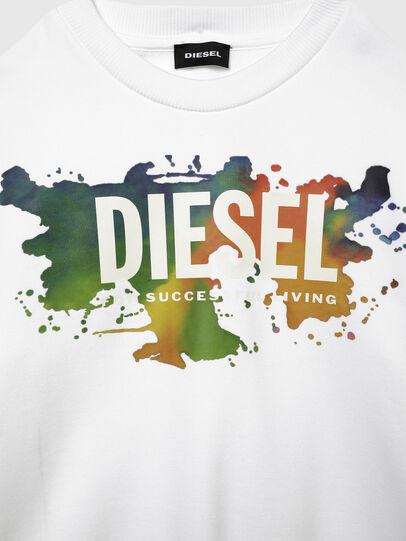 Diesel - SCREWDOSKY OVER, Bianco - Felpe - Image 3