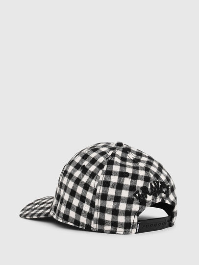 Diesel - CICHECK, Nero/Bianco - Cappelli - Image 2