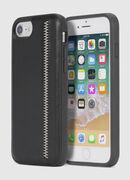 ZIP BLACK LEATHER IPHONE 8 PLUS/7 PLUS/6s PLUS/6 PLUS CASE, Nero - Cover