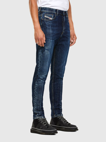 Diesel - D-Vider 0092X, Blu medio - Jeans - Image 6