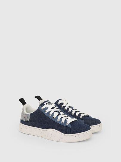 Diesel - S-CLEVER LOW LACE, Blu - Sneakers - Image 2