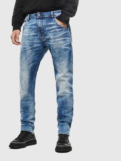 Diesel - Krooley JoggJeans 087AC, Blu medio - Jeans - Image 1