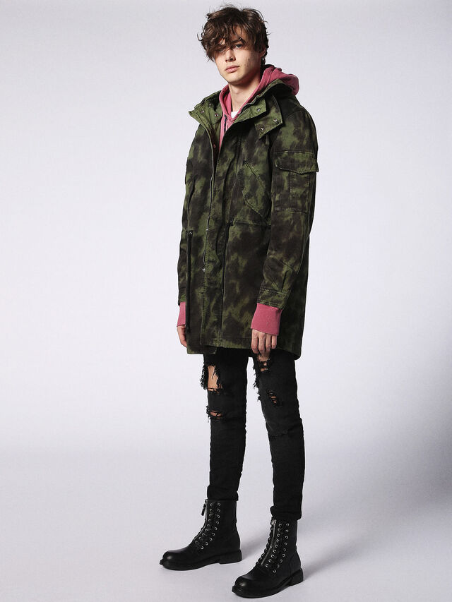 J-CRAZY-T, Green Military Tartan