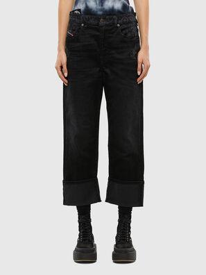D-Reggy 009LC, Nero/Grigio scuro - Jeans