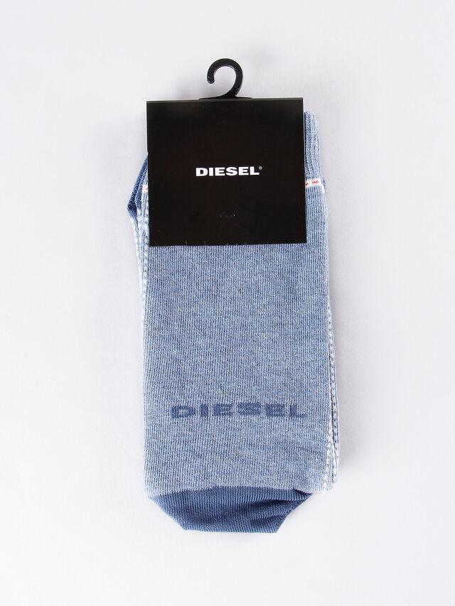 Diesel - SKM-RAY, Blu Chiaro - Calzini - Image 1