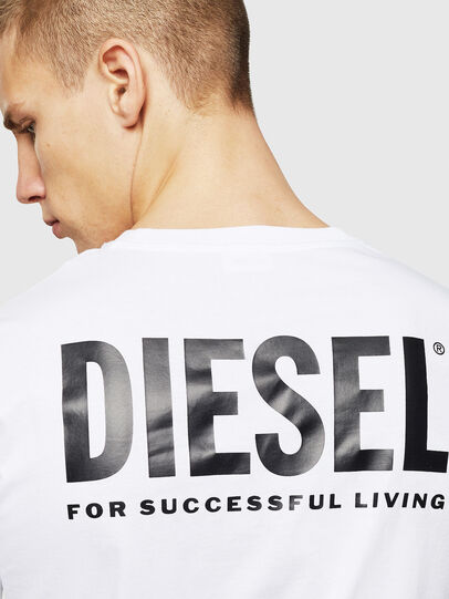 Diesel - LR-T-DIEGO-VIC, Bianco - T-Shirts - Image 5