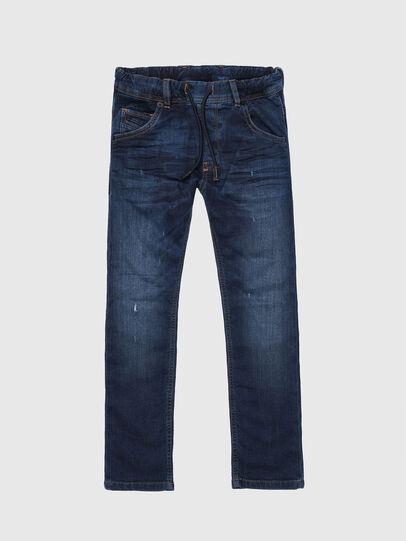 Diesel - KROOLEY-J JOGGJEANS, Blu medio - Jeans - Image 1