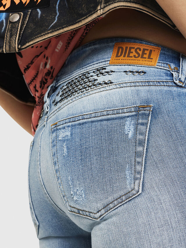 Diesel - D-Ramy 081AJ, Blu Chiaro - Jeans - Image 5