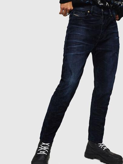 Diesel - D-Vider 0091U, Blu Scuro - Jeans - Image 1