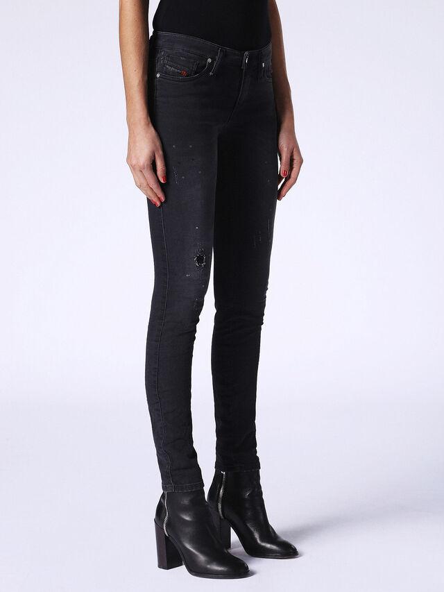 SKINZEE JOGGJEANS 0687N, Nero Jeans