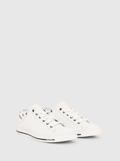 Diesel - EXPOSURE LOW I, Bianco - Sneakers - Image 2