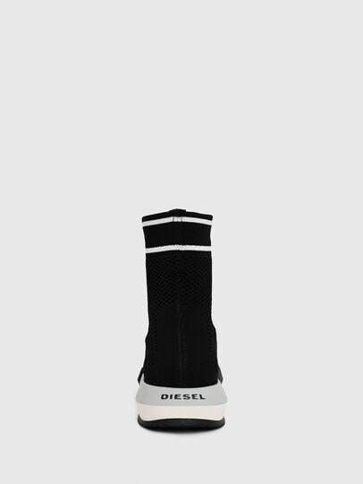 Diesel - H-PADOLA NET W, Nero - Sneakers - Image 4