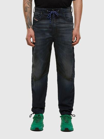 Diesel - D-Skint JoggJeans® 069PE, Blu Scuro - Jeans - Image 1