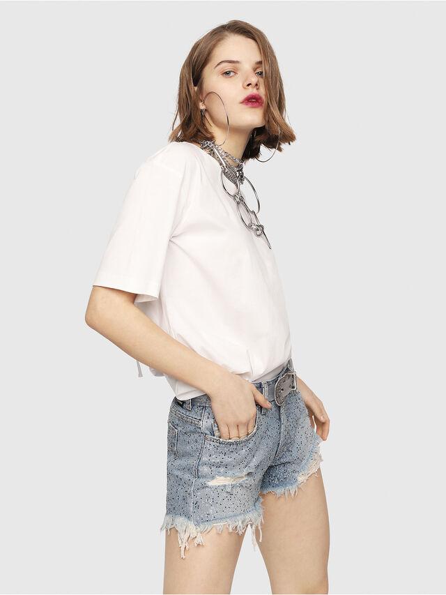 Diesel - DE-RIFTY-S, Blu Jeans - Shorts - Image 3