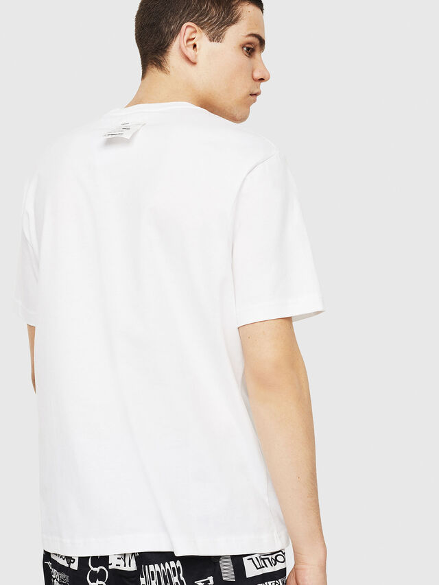 Diesel - T-JUST-Y24, Bianco - T-Shirts - Image 2