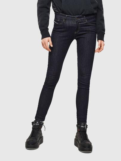 Diesel - Slandy 0813C, Blu Scuro - Jeans - Image 1