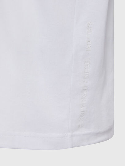 Diesel - T-JUST-X64, Bianco - T-Shirts - Image 4