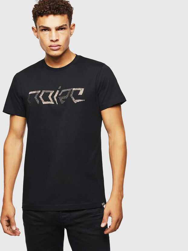 T-DIEGO-BAGH, Nero - T-Shirts