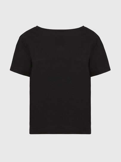 Diesel - T-RYLY, Nero - T-Shirts - Image 1