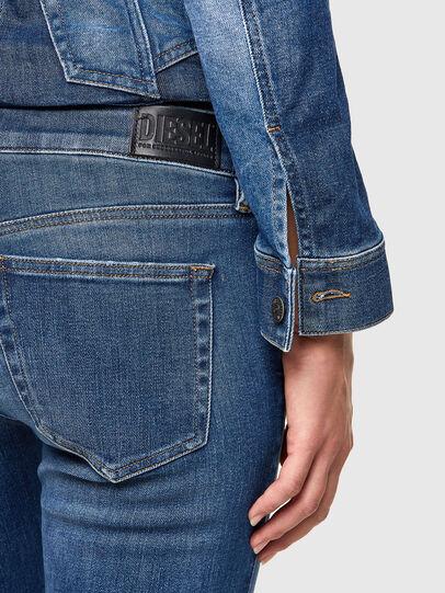 Diesel - Slandy Low 009PU, Blu medio - Jeans - Image 5