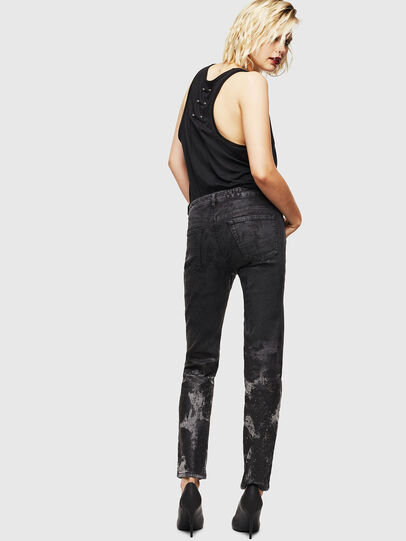 Diesel - D-Ollies JoggJeans 084AZ, Nero/Grigio scuro - Jeans - Image 2