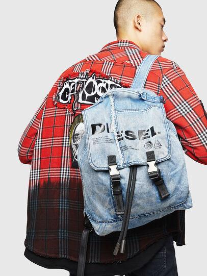 Diesel - VOLPAGO BACK, Blu Jeans - Zaini - Image 7
