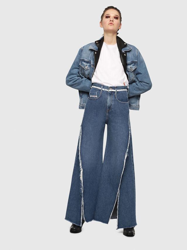 Diesel - D-Izzier 080AN, Blu medio - Jeans - Image 4