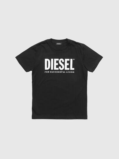 Diesel - TJUSTLOGO, Nero - T-shirts e Tops - Image 1
