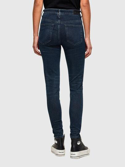 Diesel - Slandy High 009QF, Blu Scuro - Jeans - Image 2