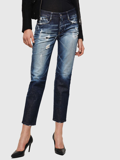 Diesel - D-Rifty 0092I, Blu Scuro - Jeans - Image 1