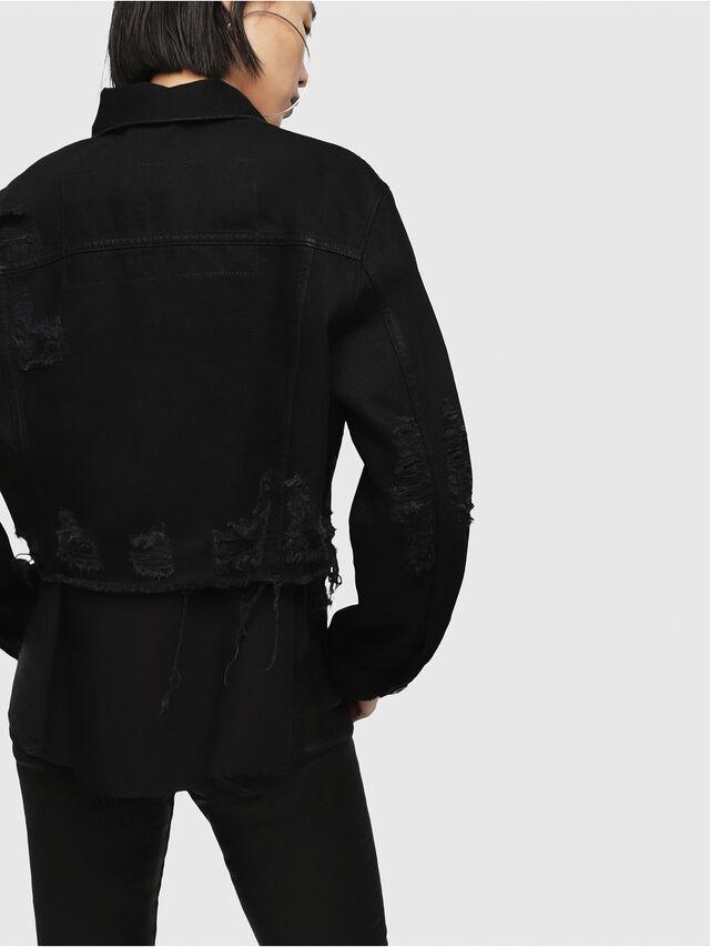 Diesel - DE-POPPY, Nero Jeans - Giacche in denim - Image 2