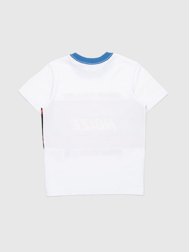 Diesel - TENDYB-R, Bianco/Nero - T-shirts e Tops - Image 2