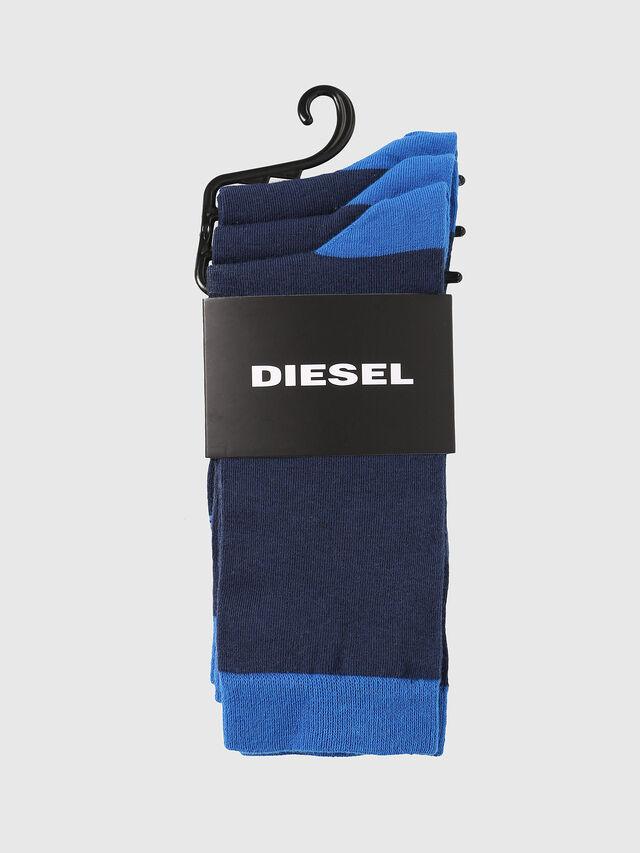 Diesel - SKM-RAY-THREEPACK, Blu - Calzini - Image 2