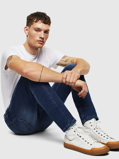 Diesel - Thommer JoggJeans 088AX, Blu Scuro - Jeans - Image 4