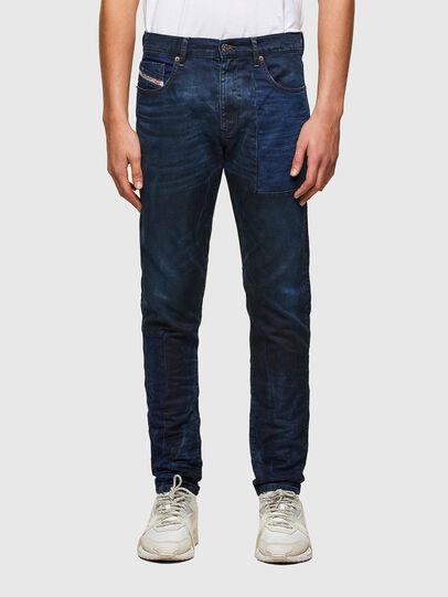 Diesel - D-Strukt JoggJeans® 069TY, Blu Scuro - Jeans - Image 1
