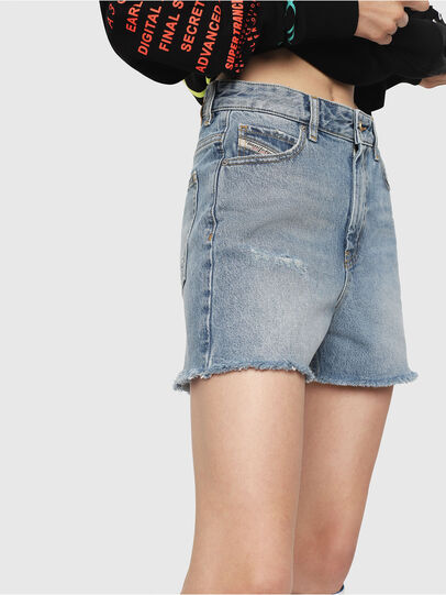 Diesel - DE-EISELLE, Blu Jeans - Shorts - Image 3