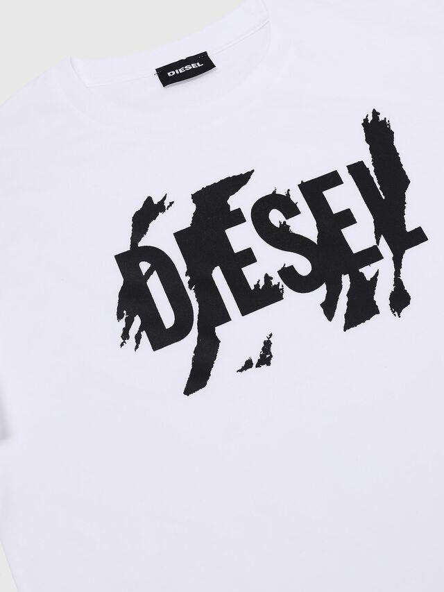 Diesel - TLUCAS MC, Bianco - T-shirts e Tops - Image 3