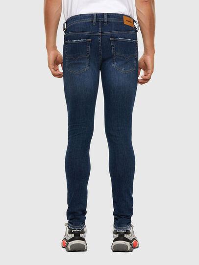 Diesel - Sleenker 009DK, Blu Scuro - Jeans - Image 2