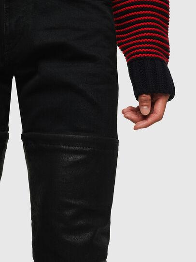Diesel - D-Strukt 0091W, Nero/Grigio scuro - Jeans - Image 3