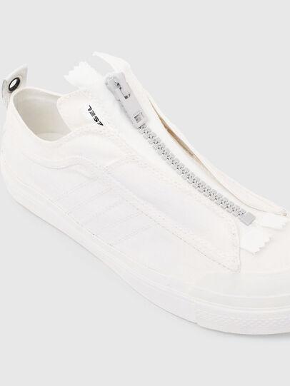 Diesel - S-ASTICO LOW ZIP SP, Bianco - Sneakers - Image 5