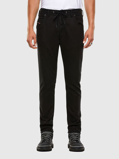 Diesel - Krooley JoggJeans 069NC, Nero/Grigio scuro - Jeans - Image 1